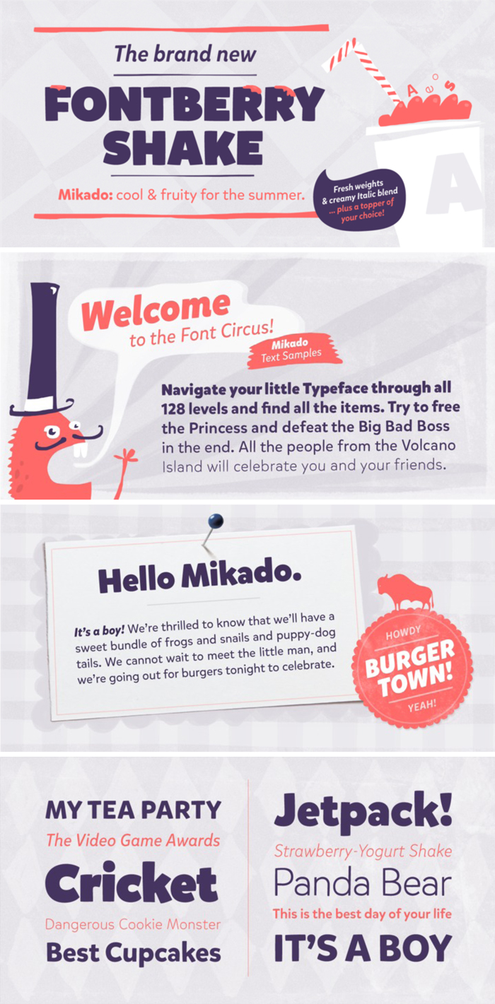 Mikado Font [Friday Favorites]