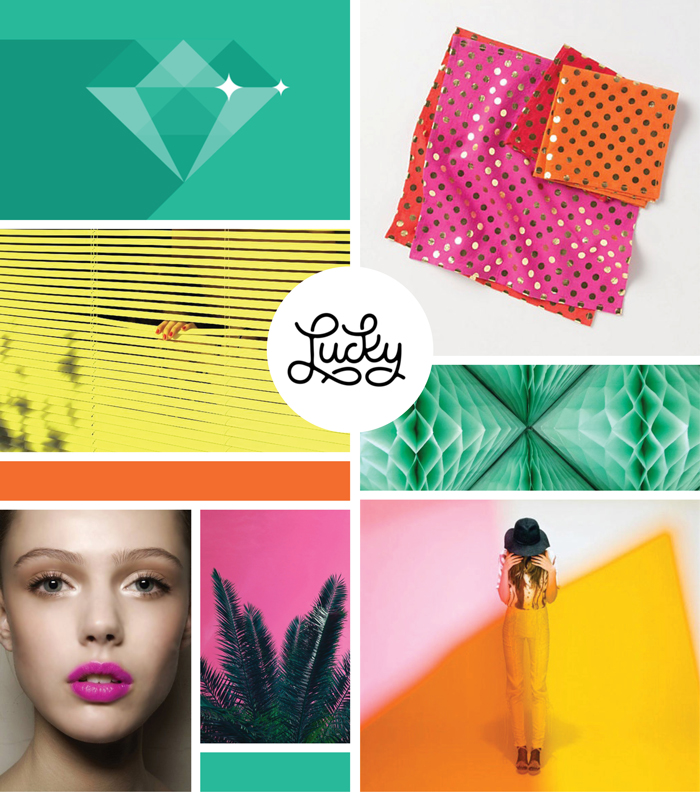 Brights Mood Board