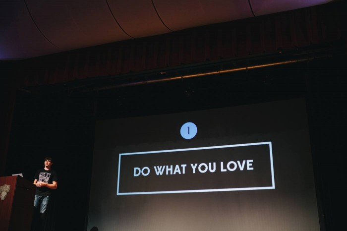 Do What You Love - Jeff Sheldon of Ugmonk - Circles Conference by Bethany Marie