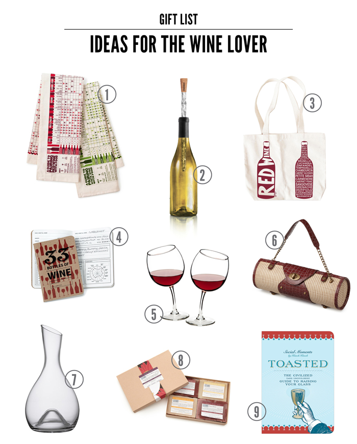 wine lover gift round up