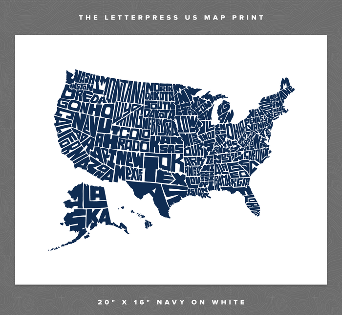 Stately-Type-Hand-Lettered-US-Map-Letterpress