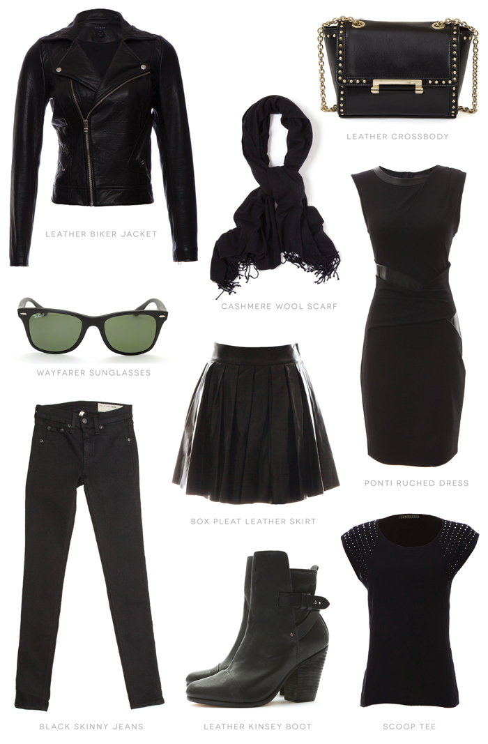 Black Wardrobe Basics