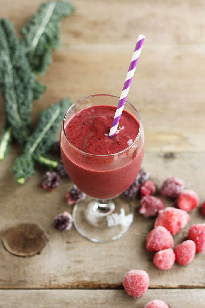 Kale Berry Smoothies