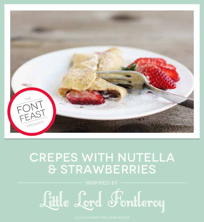 Nutella Strawberry Crepes Recipe