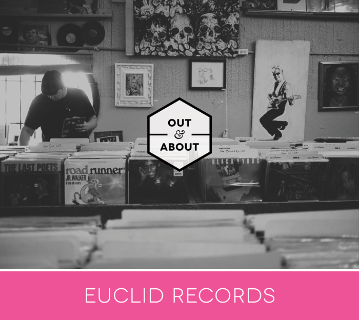 Out and About New Orleans at Euclid Records