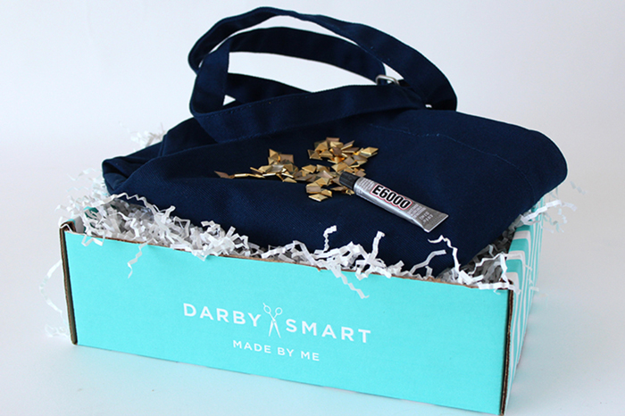 Ciera Design for Darby Smart Studded Tote Box