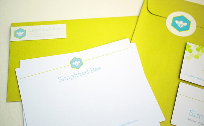 Simplified Bee Brand Identity - Stationery.jpg