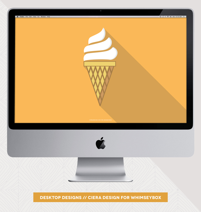 Ice Cream Desktop Freebie