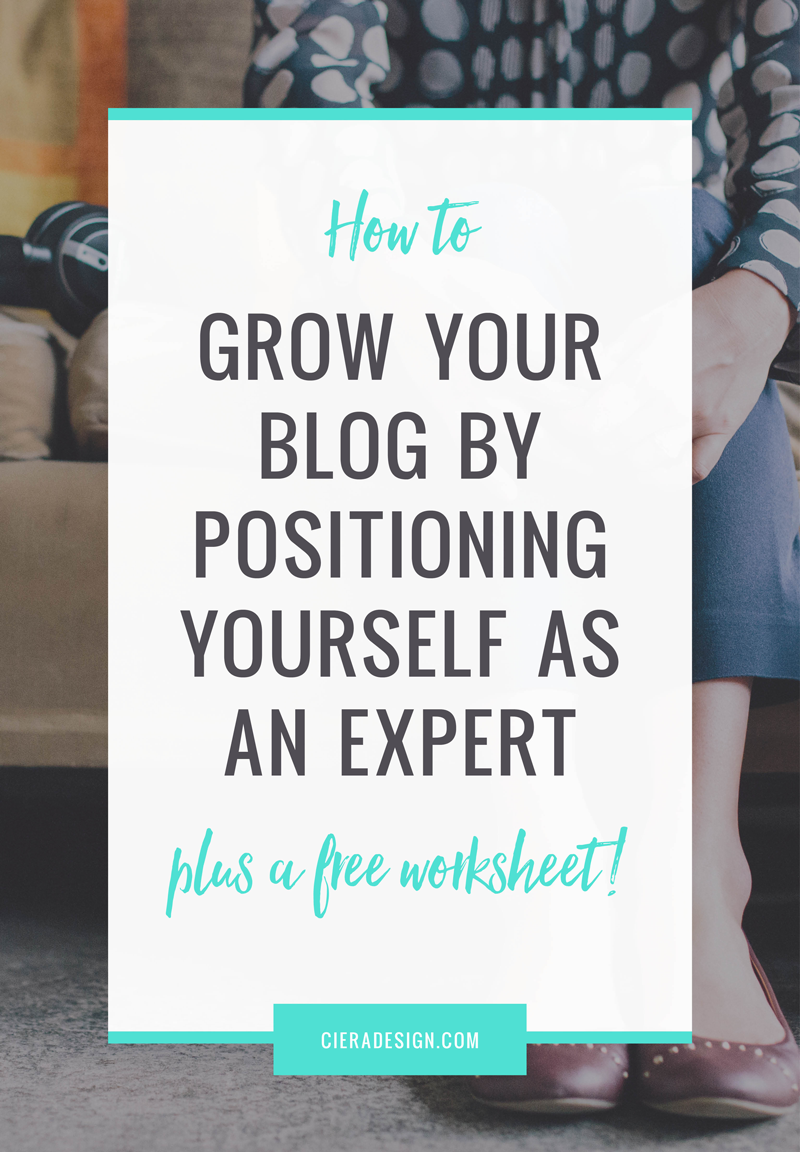 Blogging about what you know and love will make a difference! Learn how to increase traffic by positioning yourself as an expert in your field!