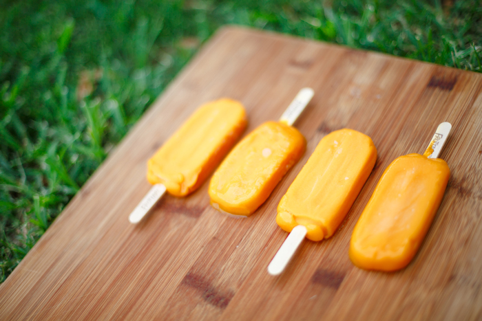 Mango Frozen Fruit Bars