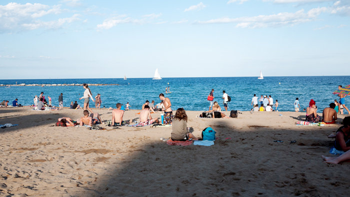 Playa-Sant-Sebastia-Barceloneta-Barcelona-Spain-Beach