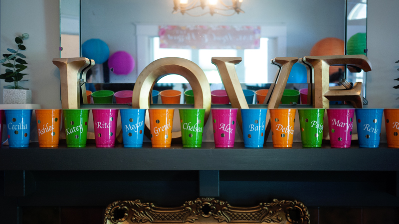 Custom Name Solo Party Cups