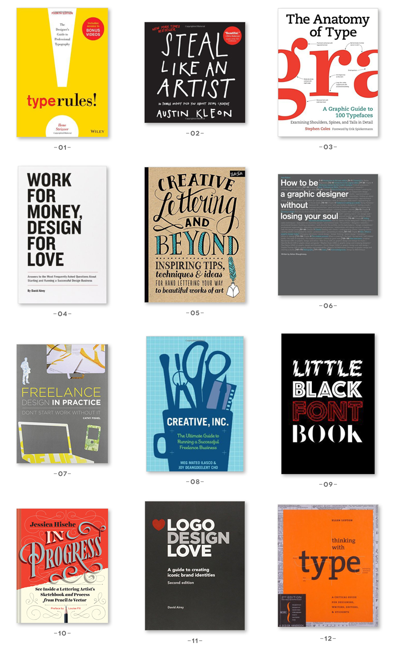 The Best Graphic Design Books – A Gift Guide