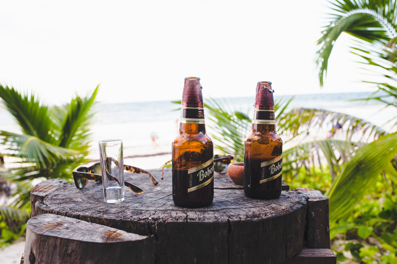 Bohemia Obscura Beer Tequila Beach