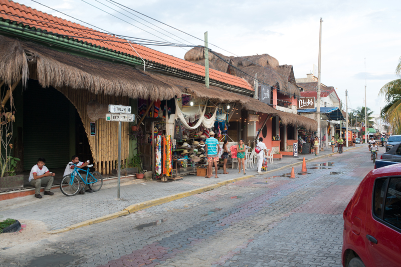 Tulum Mexico Main Road Town Guide