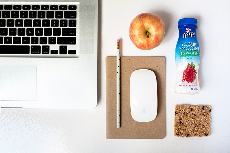 Have easy, healthy snacks on-hand when working from home