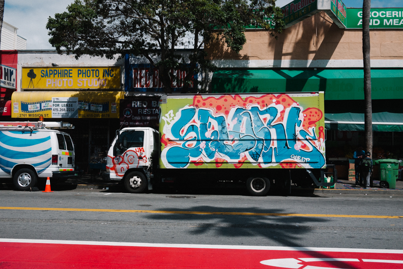 San-Francisco-Travel-Guide-Mission-Neighborhood-Graffiti-Truck