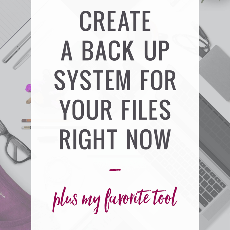 Why you need a backup system for your computer now!