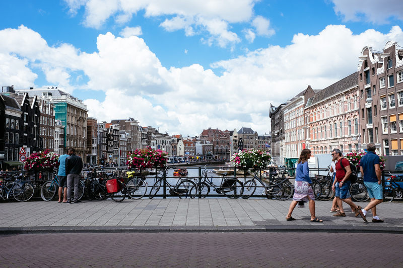 Travel Guide Amsterdam Netherlands Canal